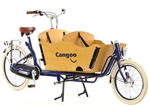 Transportrad Tangoo Downtown Plus blau-braun