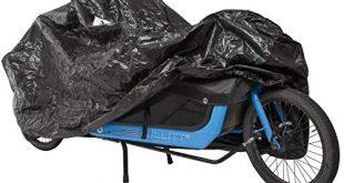 M Wave Unisex – Erwachsene Cargo Fahrradgarage extra einspurige Lastenraeder Fahrradschutz widerstandsfaehiges 310x165 - M-Wave Unisex– Erwachsene Cargo Fahrradgarage, extra, einspurige Lastenräder, Fahrradschutz, widerstandsfähiges Tarpaulin, Größe ca. 290x120x70 cm, schwarz